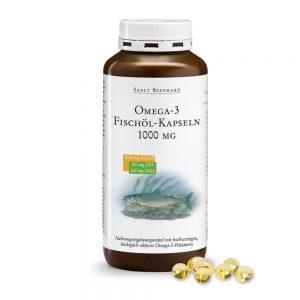 190 Omega 3 Ribje olje 1000 mg 220 kapsul