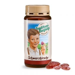 2803 Tradicionalni bonboni ČRNA ČEŠNJA 170 g SANCT BERNHARD